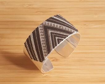Cuzco black cufflinks & 925 Silver