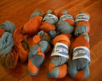 Andes 100% Wool Yarn 8 Full Skeins