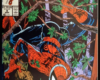 Spider-Man #8 Marvel Comics March 1991 Todd McFarlane