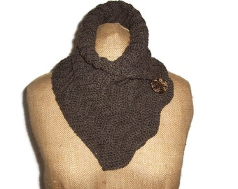MADE TO ORDER An Echo In The Bone crocheted cowl scarf wrap