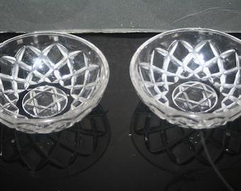 Vintage Glass Dessert Dishes, Vintage Glass, Dessert Dish, Pudding Dish