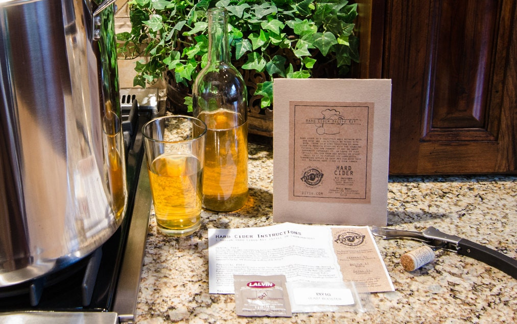 This is an easy hard apple cider recipe for a beginner to make their own hard cider. This guide helps a beginner by giving concise instructions on how to make a 1-gallon batch of hard cider starting with store-bought apple juice.