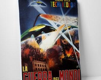 La Guerra Dei Mondi Gallery Wrapped Canvas Print