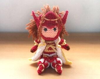 Ryoma Fire Emblem Fates Amigurumi doll