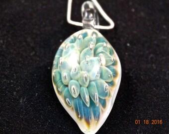 Handcrafted, Blown Glass, Glass Art, Borosilicate Glass, Glass pendant