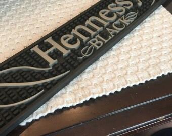 Hennessy Black bar mat
