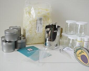 100% soy candle making kit (large)