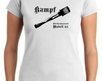 T-shirt T0824 kampf military grenades