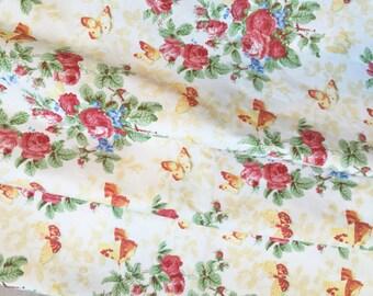 Ralph Lauren Vintage Garden Floral Fabric