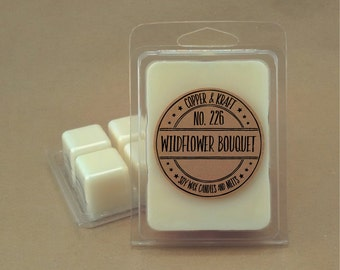 No. 226 WILDFLOWER BOUQUET // Soy Wax Melt // Soy Wax Tarts // Highly Scented Wax Melts