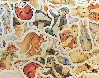 Large Confetti - Beatrix Potter,Birthday Party,Baby Shower Confetti,Table Confetti,Party Confetti,Baby Shower Decor,Die Cuts,Peter Rabbit