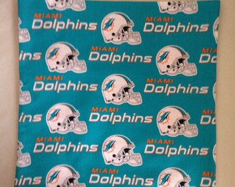 "Miami ""Dolphins"" 16""X16"" Pillow Case/Cover"