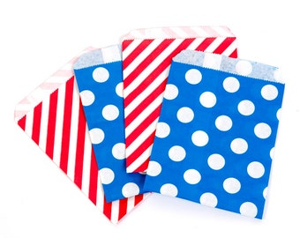 Red and Blue Treat Bag Mix