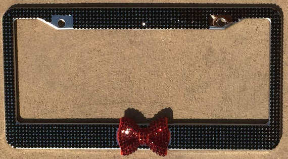 Rhinestone License Plate Frames  Bling Crystal License