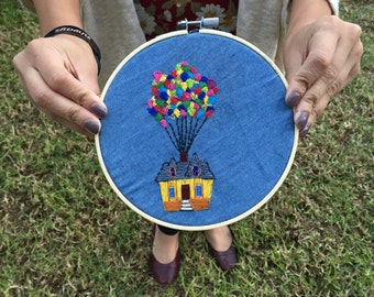 Disney's Up Embroidery Hoop Frame