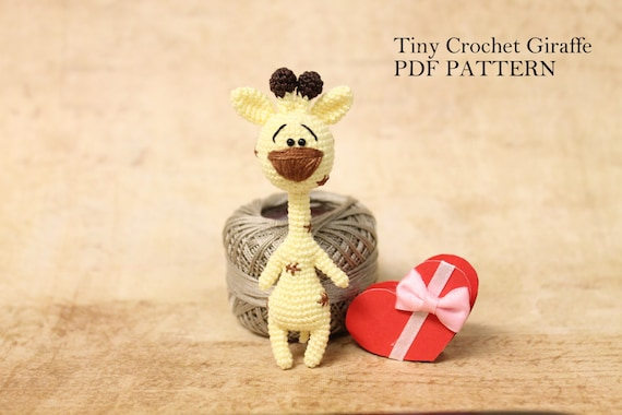 Amigurumi Hello Kitty Collection 1 : Giraffe PATTERN Amigurumi Giraffe Crochet by PinkMouseBoutique