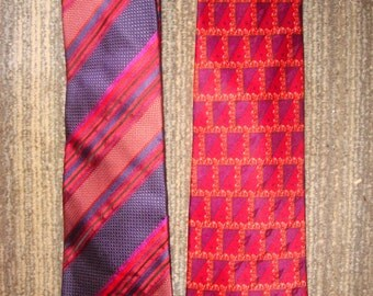 1 Valentino  and 1 Missoni Silk Neckties