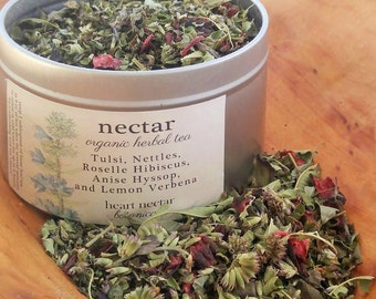 Organic Herbal Tea ~ Homegrown ~ Nectar Blend