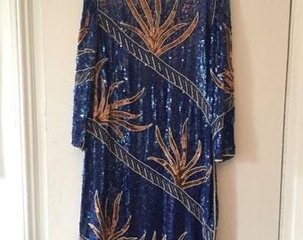 Gorgeous Beaded Sequin Dress