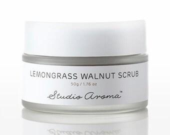 Lemongrass Walnut Scrub