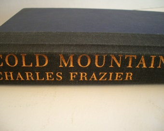 Cold Mountain by Charles Frazier, First Edition 1997