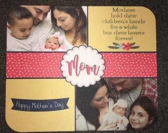 Personalized Mother's Day Photo Mousepad