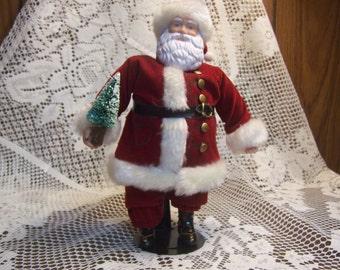 Standing Santa Doll Figurine