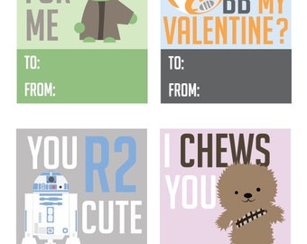 Star Wars Valentine Printables