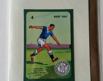Original 1950s 'Goal' card Chelsea