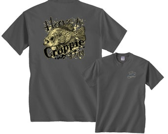 Have A Crappie Day Panfish Funny Fishing T-Shirt free shipping in the USA