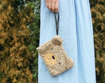 Kids makeup bag, girls crossbody purse, side bag for girls cosmetic bag toiletry bag christmas gifts for girl