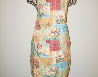 Under the Tuscan Sun Apron -  Chef Style - Tuscan Colors -  AC 140