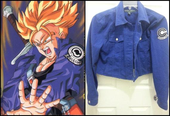 DBZ Super Saiyan Future Trunks Jacket Cosplay Costume Dragon