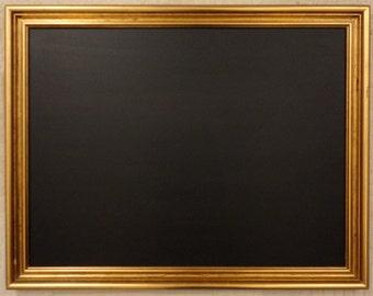 Large Antique Gold Framed Chalkboard / Blackboard / Menuboard / Weddings