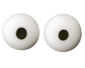 """Royal Icing Eyes 3/4"""" Diameter"""