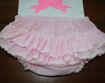 Pink Bloomers and Headband