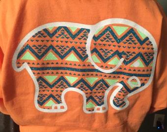 Custom Elephant Print Spirit Jersies - Customizeable