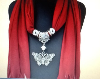 Bohemian Scarf Necklace