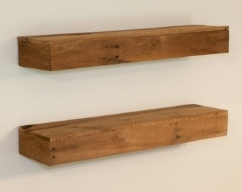 Floating shelf Bathroom Shelf Wood Shelves Kitchen Shelf Wall shelf Corner shelf Wood shelf Hanging shelf Reclaimed shelves Rustic shelves
