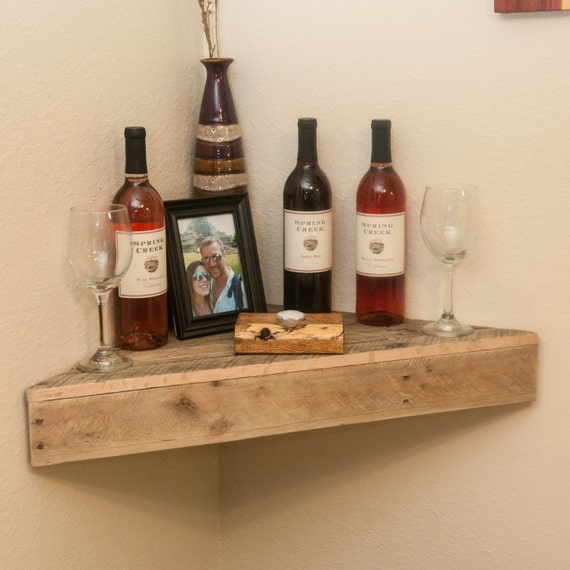 Like this item? - Wall Shelf Floating Shelf Book Shelf Bathroom Shelf Corner