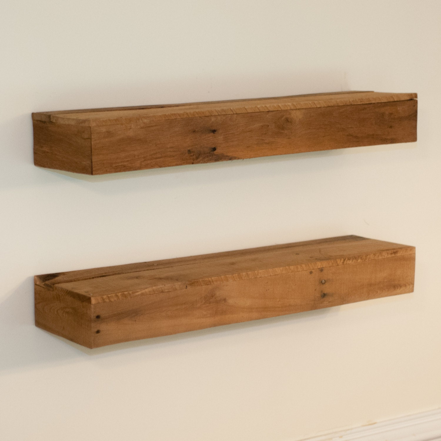 Floating Wood Shelves ~ Floating shelf bathroom wood shelves kitchen wall