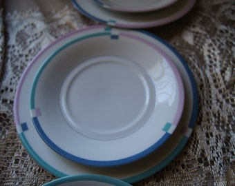 Lovely Medium and Small  Plates Set