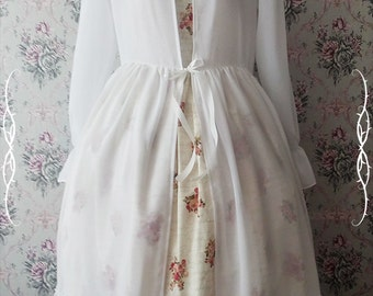 Chiffon lolita overdress