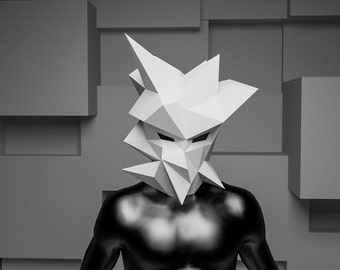 Make your own Polygonal Head Mask