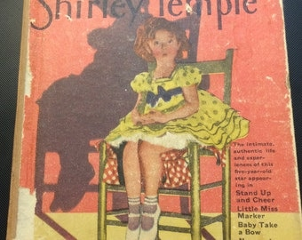 The Story of Shirley Temple, 1930's Little Big Book