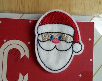 Santa Face Christmas Paper Clip