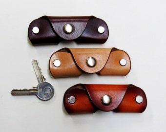 Key pouch, Key Holder, Leather Key Organizer, Leather Key Folder, Leather Key Case, Keychain, gift, mens gift, Key Case, keys silencer,