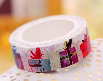 10M Lovely Gift Box Washi Tape