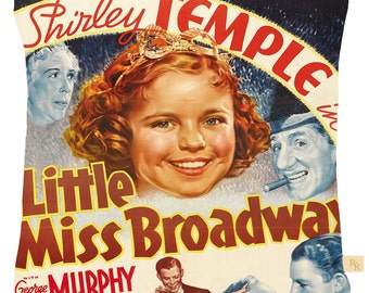 Shirley Temple Cushion Cover Little Miss Broadway
