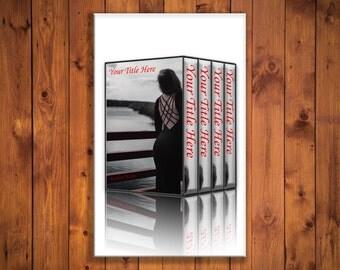 4 Kindle Book Box Set Cover Photoshop Templates